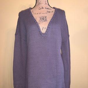 One Teaspoon sweater dress grey chunky knit